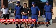 Suriyeliler Alanya'da bir genci 9 yerinden bıçakladılar!