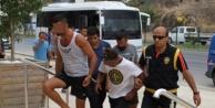 Alanya'yı korkutan tekne kapışmasına 2 tutuklama