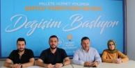 Alanya Ak Parti yerel seçim için düğmeye bastı
