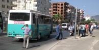 Alanya'da kaza! Halk otobüsü yayaya çarptı