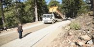 Gören Yaylası'nda asfalt sevinci