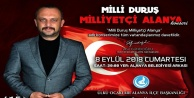 'Milli Duruş Milliyetçi Alanya' konserine davet