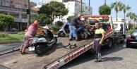Polis kaldırım işgaline savaş açtı