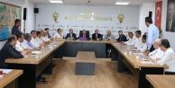 Toklu başkanlar toplantısında