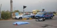 Alman turist motosiklet kazasında feci şekilde öldü