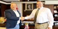 Şahin, Letonya Büyükelçisi'nden vize kolaylığı talebinde bulundu