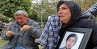 Acılı anne oğlunun öldüğü yola ilk kez geldi