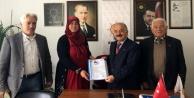 Akseki'de ilk başvuruyu kadın aday yaptı