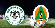 Alanyaspor - Konyaspor maçının kadroları belli oldu