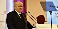 """Bahçeli ' AK Parti'nin adayını ön şartsız destekleyeceğiz"""""""
