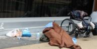 Dilendiği tekerlekli sandalyede öldü