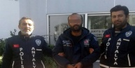 Isınmak için ambulans çaldı, tutuklandı