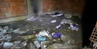 Alanya'da metruk bina uyuşturucu yuvası oldu
