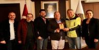 Akdağ Spor Kulübü Şahin'i ziyaret etti