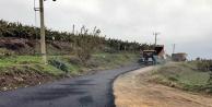 Alanya Belediyesi'nden Mahmutlar'a sıcak asfalt