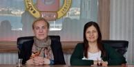 Alanya Kent Konseyi Coşkun'u ziyaret etti