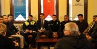 Alanya polisinden huzur toplantısı