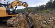 Alanya'da içme suyu seferberliği : 6 mahalle suya kavuşuyor