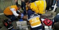 Alanya'da kalbi duran adam son anda kurtarıldı