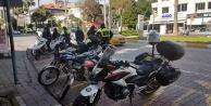 Alanya'da motosiklet sürücülerine ceza yağdı!