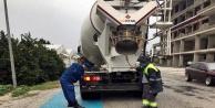 Alanya'da yük kamyonu denetimleri arttırıldı