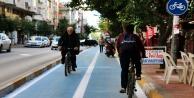 Büyükşehirden 28 kilometrelik bisiklet yolu