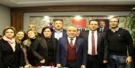 CHP'nin Antalya adayı Böcek partililerle buluştu