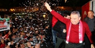 CHP'nin Antalya adayı Böcek'e coşkulu karşılama