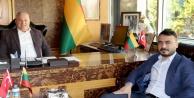 Fahri Konsolos Şahin'e ziyaretler başladı