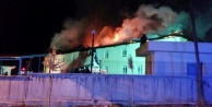 Komşudaki hastanede yangın paniği!