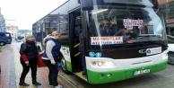 Yeni otobüsler bugün ilk seferine çıktı