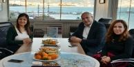 Müdür Çelik'ten AGC Başkanı Coşkun'a ziyaret