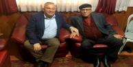 Şahin baba Çavuşoğlu'nun duasını aldı