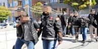 Uyuşturucu tacirlerine dev vurgun! Alanya ve 7 farklı  ilden 11 gözaltı