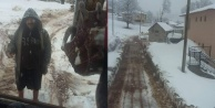 Alanya'da kar çilesi devam ediyor