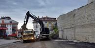 Alanya Belediyesi o caddeyi sil baştan yeniliyor