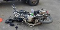 Alanya'da yürekleri ağza getiren kazada bir kişi yaralandı!