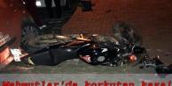 Alanya'da alkol kaza getirdi: 1 motosikletli yaralandı