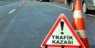 Alanya'da motosikletle minibüs çarpıştı: 1 yaralı