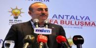 """Alanyalı Bakan Çavuşoğlu: 'Siz geçmişte de Kürtleri kullandınız"""""""