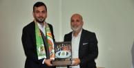 Alanyaspor'dan Ak Parti'ye 'hayırlı olsun' ziyareti