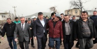 Başkan Türel afetzedelerle buluştu