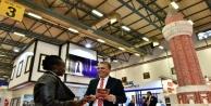 Başkan Uysal Kaleiçi'ni EMITT'te tanıttı