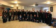 Çorbacı CHP'li eski ilçe başkanlarıyla buluştu