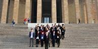 Genç vekillerden Ankara ziyareti