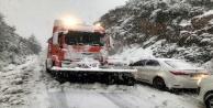Konya'ya gidecekler dikkat! Kar yolları kapattı