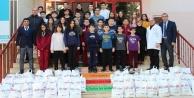 Öğrencilerden Afrin'e anlamlı yardım
