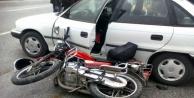 Alanya'da 3 kişi motosiklete binerek dehşet saçtı!