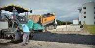 Alanya'da hasta yakınlarına müjde: O yol asfaltlandı