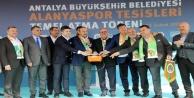Türel'den Alanyaspor'a 75 milyon TL'lik tesis